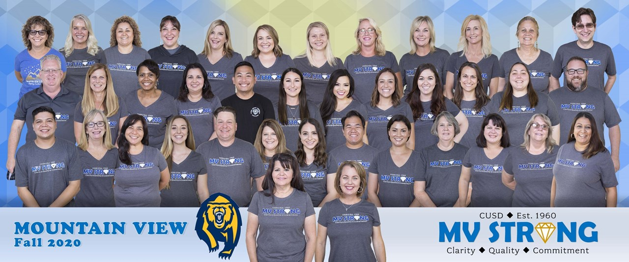 Mountain View Staff 2020