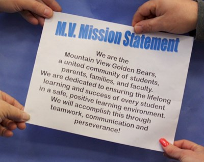 mission and vision statement picture